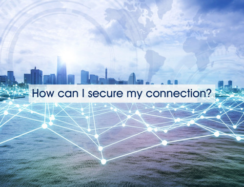 How can I secure my connection?